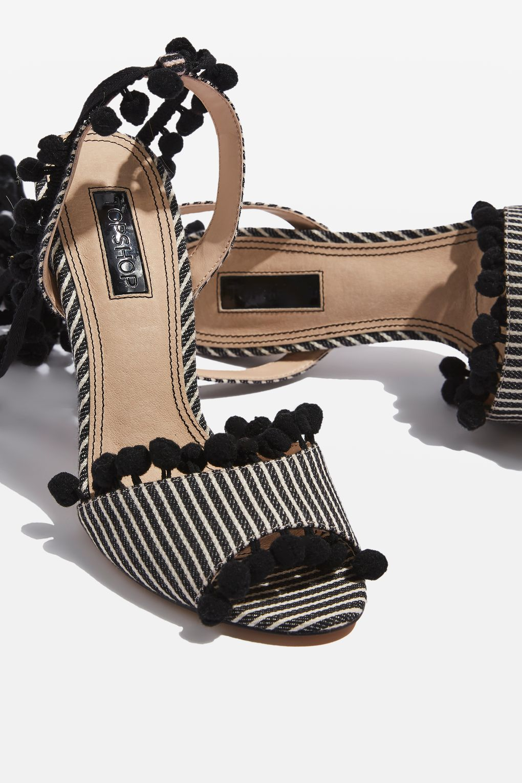 top shop sandal stripe blog